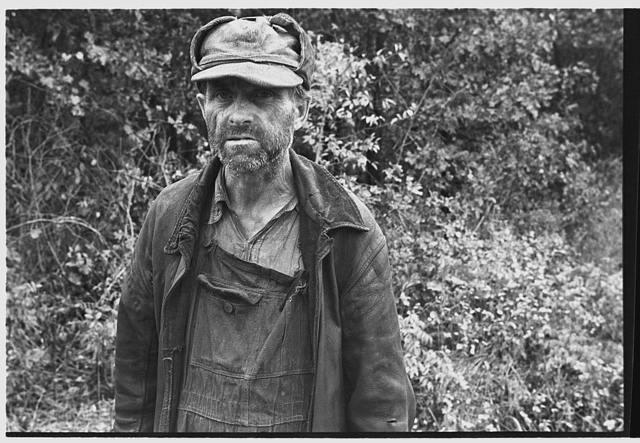 Destitute Ozark resident, Arkansas