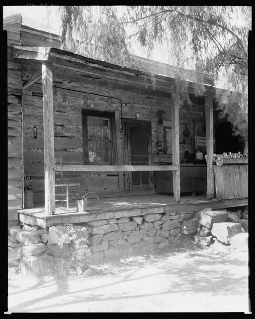 Enos Blair Log House, High Point vic., Randolph County, North Carolina