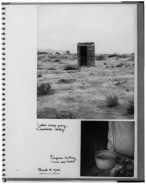 [Establishment of rural rehabilitation camps for migrants in Calif.]