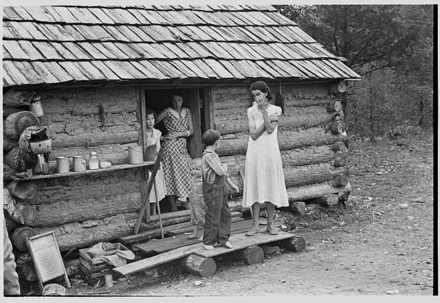 Family of rehabilitation client, Boone County, Arkansas