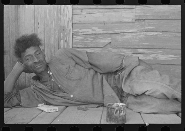 Florestine Carson, unemployed Creole (Negro) trapper, Plaquemines Parish, Louisiana