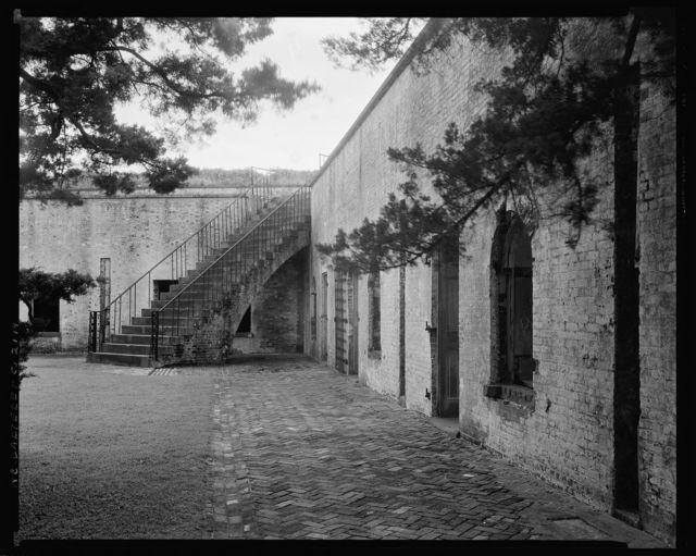 Fort Macon, Beaufort, Carteret County, North Carolina