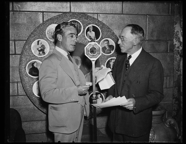 Frank Gorman, Pres. of United Textile Workers and Chester M. Wright, owner of Textile Labor [...] Pres. agent for [...]