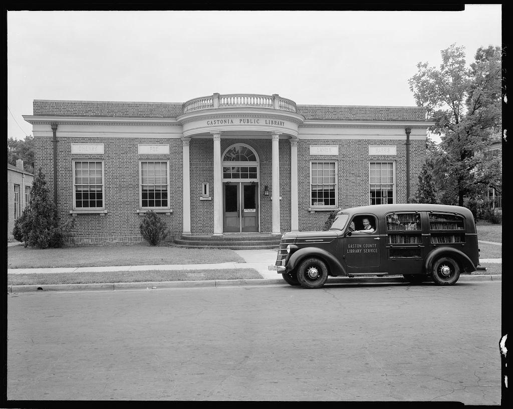 Gaston County Bookmobile, Gastonia, Gaston County, North Carolina