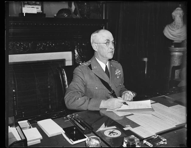 Gen. Malin Craig, Chief of Staff, U.S. Army