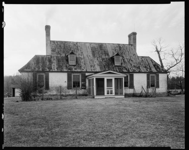 Glebe House, Whitemarsh, Gloucester County, Virginia