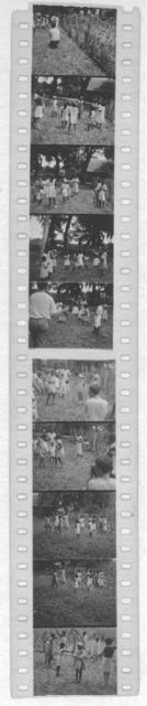 [Groups of people dancing (Alan Lomax is seen making a film in one shot). Photos probably from the Georgia, Florida and Bahamas expedition, 1935]