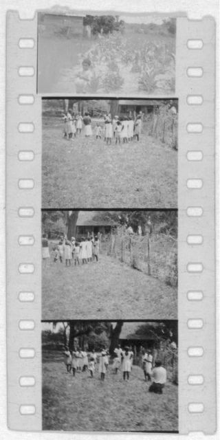 [Groups of people dancing, (Alan Lomax is seen making a film in one shot). Photos probably from the Georgia, Florida and Bahamas expedition, 1935]