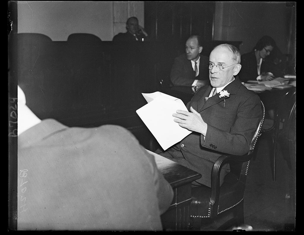Henry I. Harriman, Pres. Chamber of Commerce of U.S.