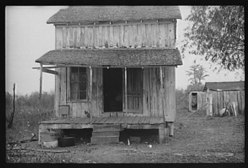 Home of sharecroppers, Arkansas