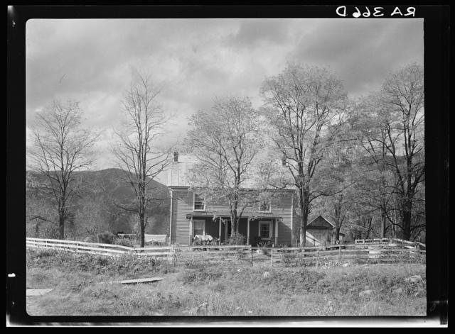 House at Nethers. Shenandoah National Park, Virginia