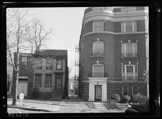 House on Florida Avenue and 19th Street N.W., Washington, D.C.