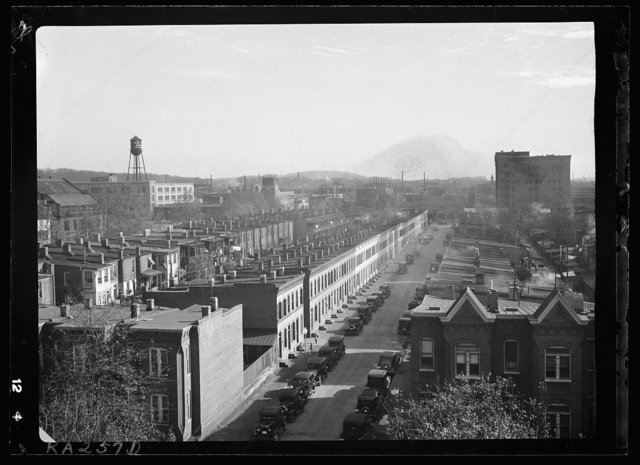 Houses in vicinity of First and L Streets, Washington, D.C.