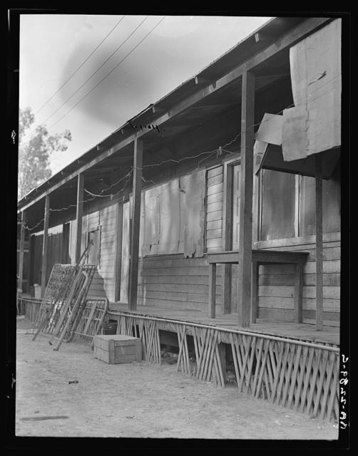 Housing. Brawley, Imperial Valley, California