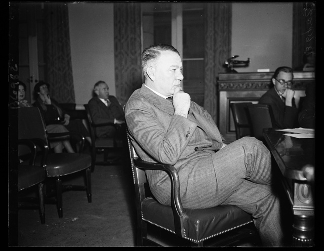 Johnson denies collusive bidding charges. Gen. Hugh S. Johnson denied before the House Military Affairs Committee that he had blinked at collusive budding on the part of shipbuilders while he headed the NRA. 1/26/35