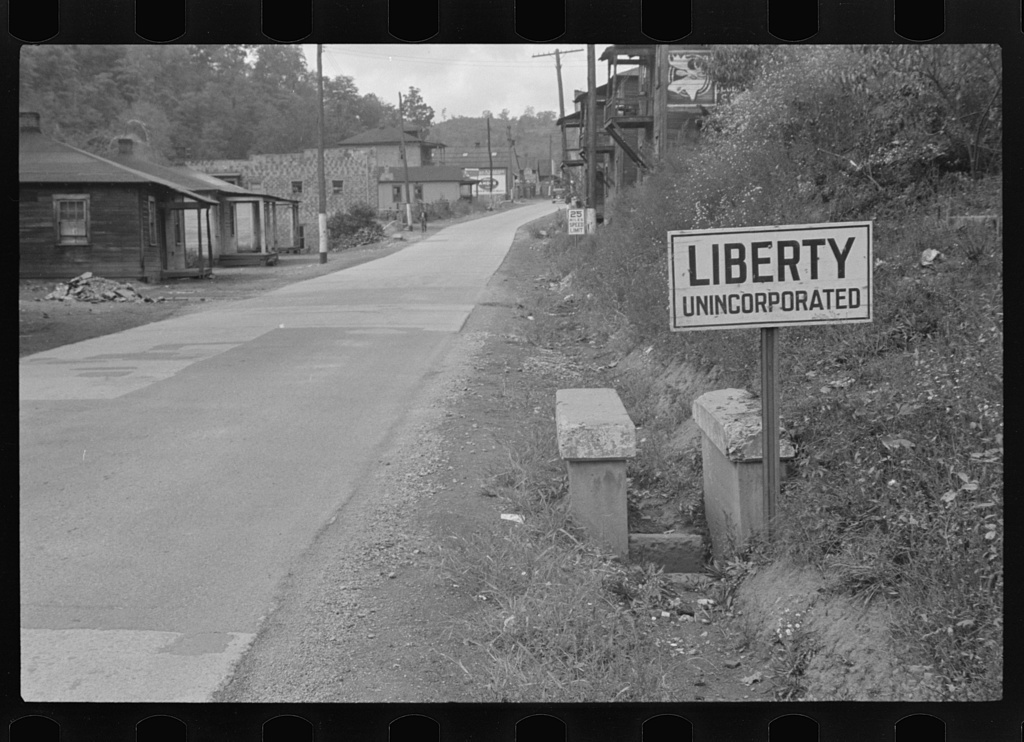 Liberty, unincorporated, Scotts Run, West Virginia