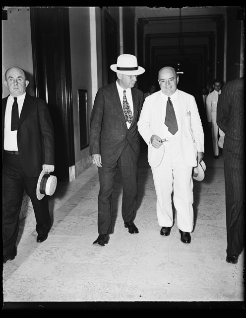 M. Hitt of Washington Attorney & H.C. Hopson, Senate lobby