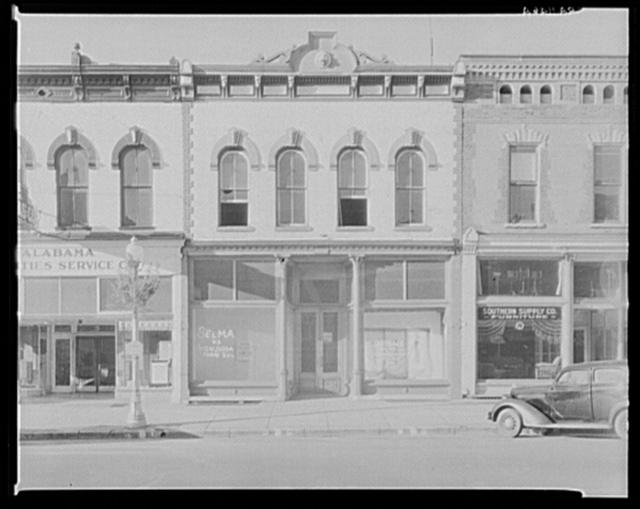 Main street architecture. Selma, Alabama
