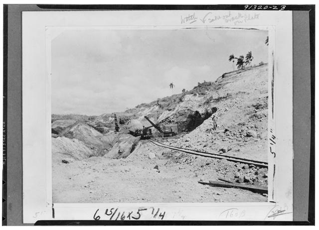 Manganese mine in Cuba