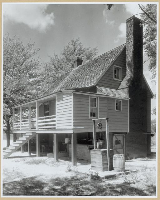 Mangohick Village house, Mangohick Village, King William County, Virginia