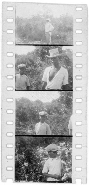 [Men on Cat Island, from Bahamas expedition, 1935]