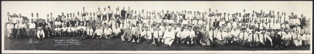 Merchants Ice and Fuel Co., guests of Sahara Coal Co., Country Club, Harrisburg, Ill.