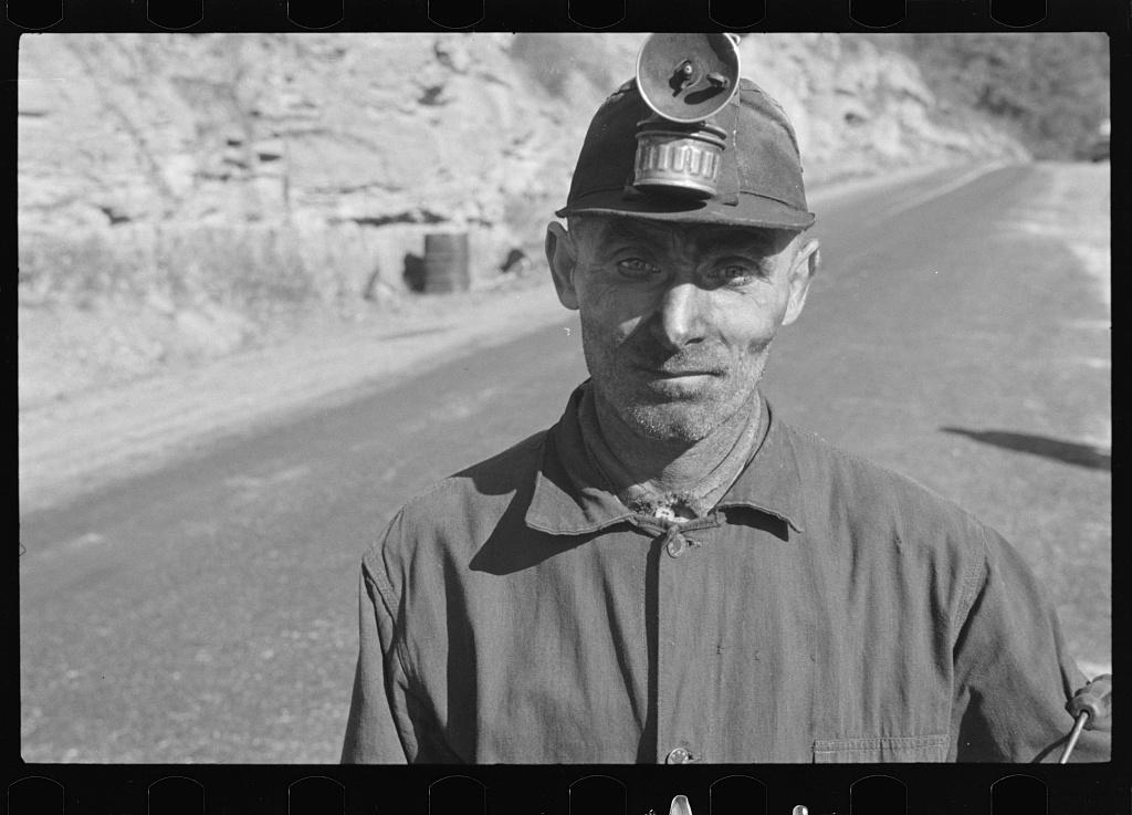 Miner at Freeze Fork, West Virginia