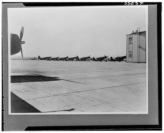 Miscellaneous collection of photographs of aircraft production