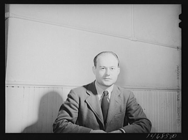 Mr. Arthur Rothstein, Farm Security Administration photographer