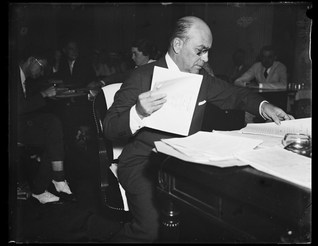 Mr. Ira Campbell, NY Atty. at Senate lobby