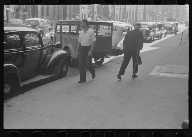[New York, New York. 61st Street between 1st and 3d Avenues]