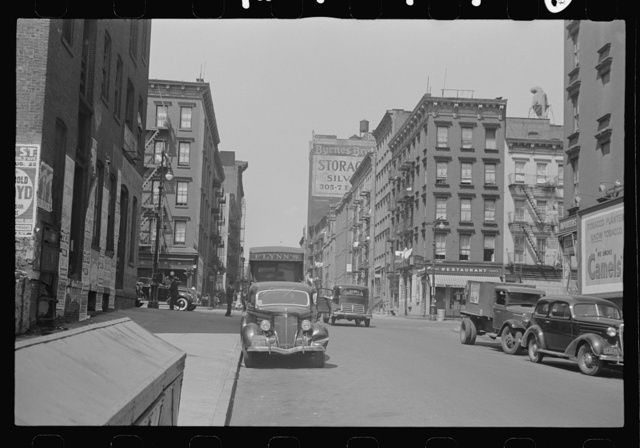 [New York, New York. 61st Street between 1st and 3rd Avenues]