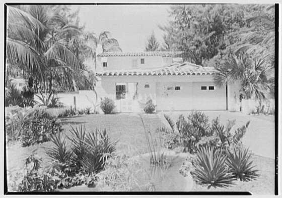 N.R. Boice, residence at 4444 Prairie Ave., Miami Beach, Florida. Exterior