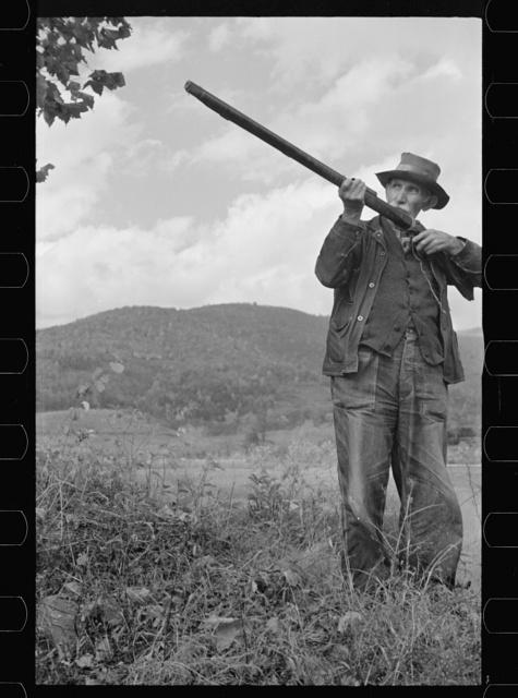One of the oldest inhabitants in the village of Nethers, Shenandoah National Park, Virginia