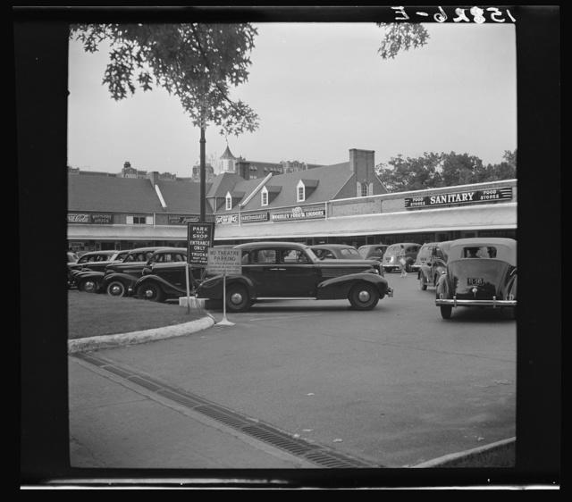 [Park and Shop shopping center, 3507-3523 Connecticut Ave., N.W., Washington, D.C.]