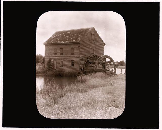 """[""""Poplar Grove,"""" Arthur Saint Clair Butler house, Williams, Mathews County, Virginia. Tide mill]"""