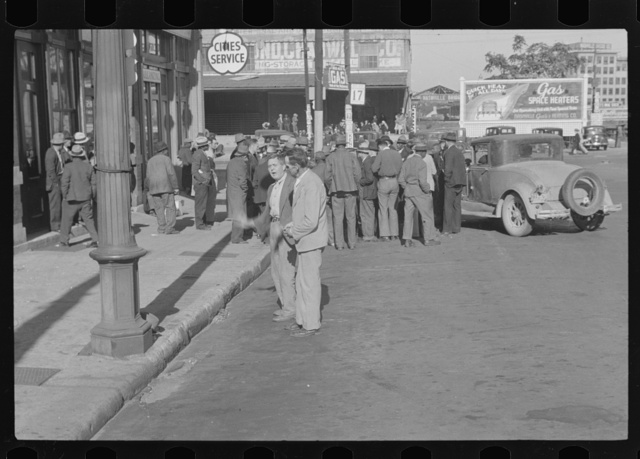 Religion in Nashville, Tennessee. A religious gathering in the street