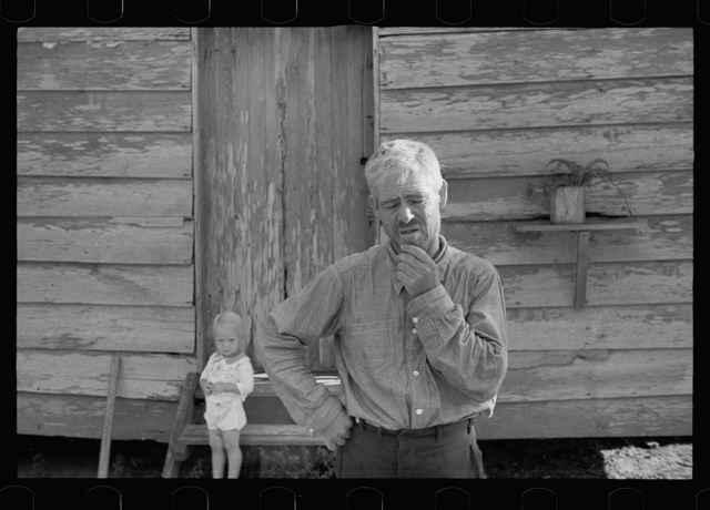 Resettled farmer who has failed to cooperate with Wolf Creek Farm Project, Georgia
