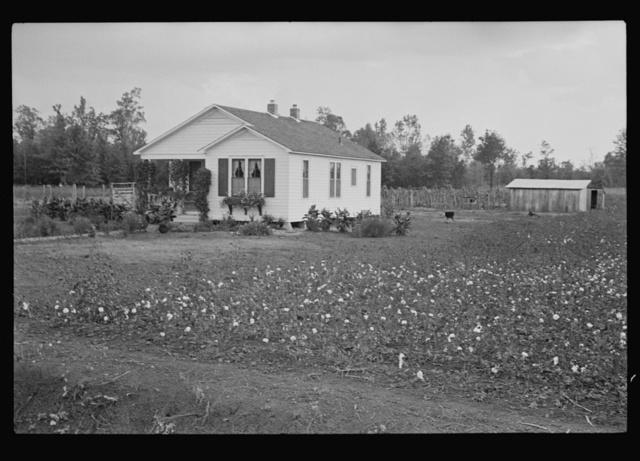 Resettlement house in Dyess Colony, Arkansas