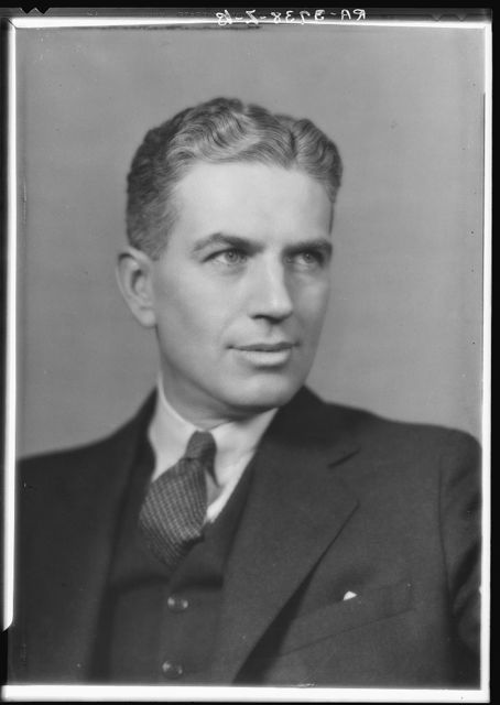 Rexford G. Tugwell, administrator, United States Resettlement Administration