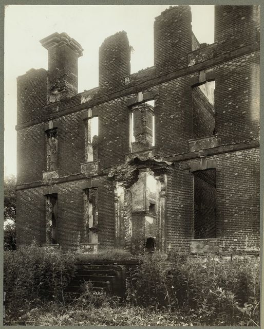Rosewell (ruins), Whitemarsh vic., Gloucester County, Virginia