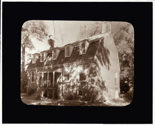 [Rural Plains, Mechanicsville Rural Point vicinity, Hanover County, Virginia. Entrance facade]