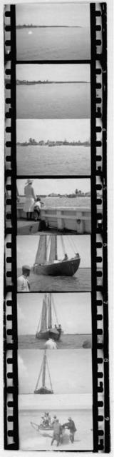 [Sailboats and landscapes, from Georgia, Florida and Bahamas expedition, 1935]