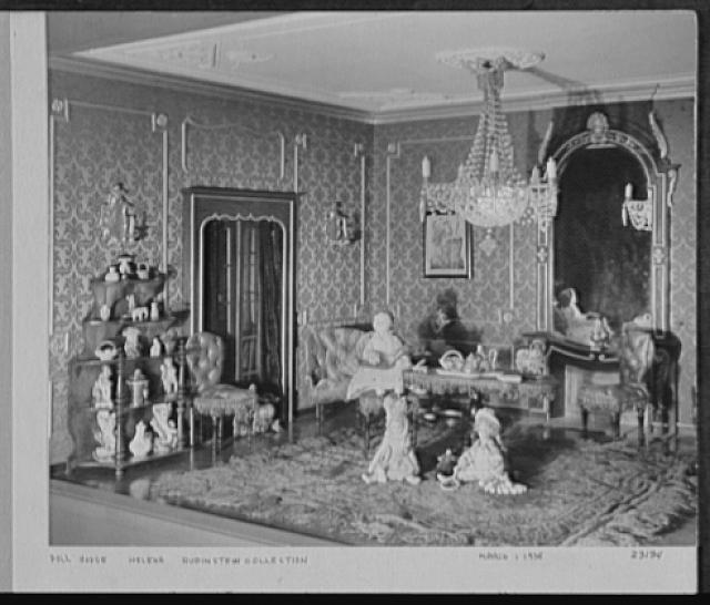Seventy-one years, or, My life with photography. Dollhouse, Helena Rubenstein collection, Mar. 1, 1935