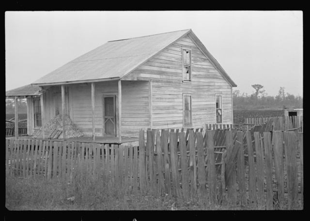Sharecropper's home, Pulaski County, Arkansas