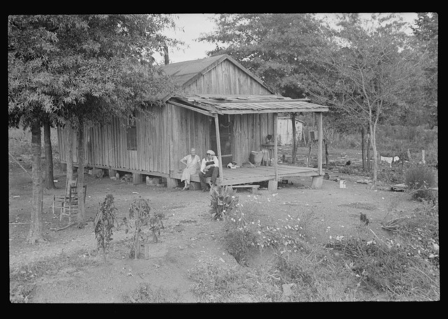 Sharecropper's house optioned, Dyess Colony, Arkansas