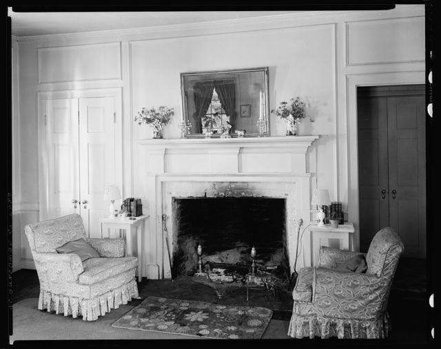 Sherrill Inn interior, Hickory Nut Gap, Buncombe County, North Carolina