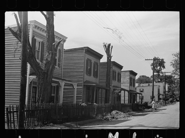 Slums, Washington, D.C.