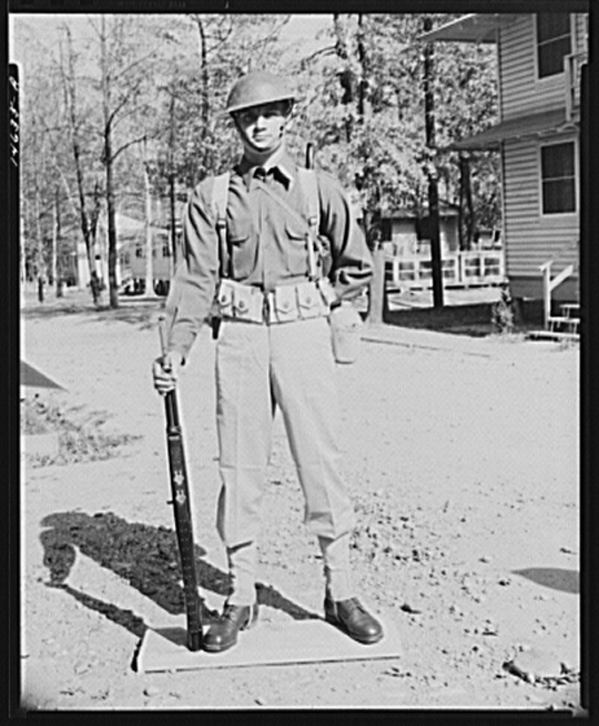 Soldier. Fort Belvoir, Virginia