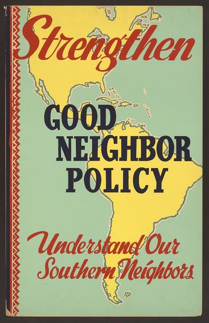 Strengthen good neighbor policy: Understand our southern neighbors